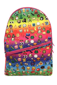 Terez Rainbow Emoji Backpack | Honeypiekids
