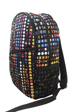 Terez Girls Black Emoji Backpack | Honeypiekids