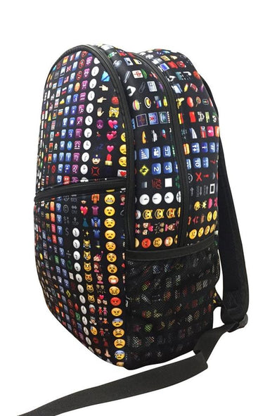 Honeypiekids | Terez Girls Black Emoji Backpack