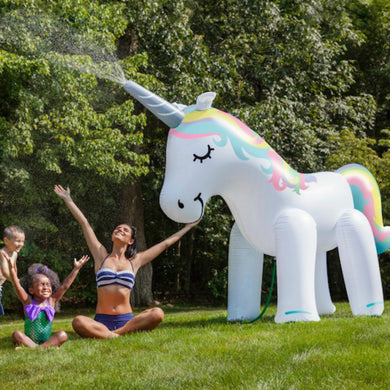 Giant Inflatable Magical Unicorn Yard Sprinkler
