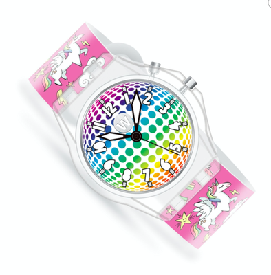 honeypiekids | Unicorn World Watchitude Glow Light Up Watch.