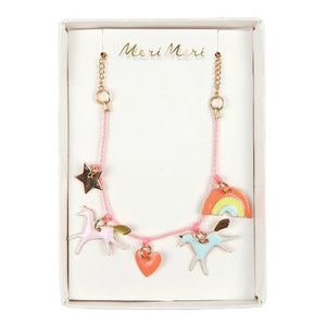 honeypiekids | Meri Meri Unicorn Enamel Necklace