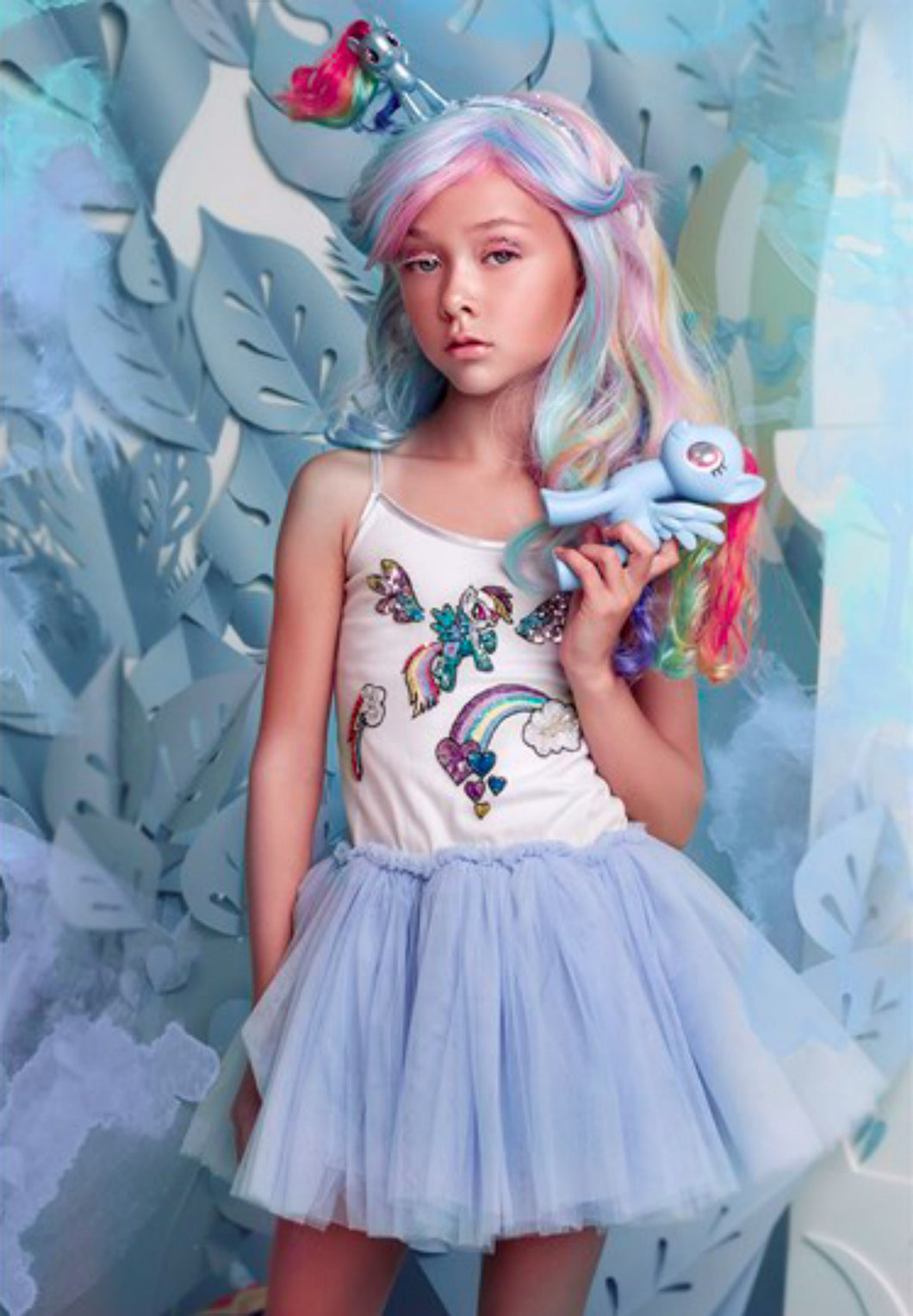 Tutu Du Monde LOVES My Little Pony WONDERBOLT TUTU DRESS - Honeypiekids.com