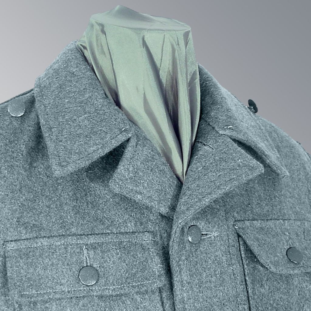 SS UNIFORMS - BLUE GREY WOOL