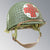 WWII 506th M1C Paratrooper Medic Helmet with Original OD 7 Net