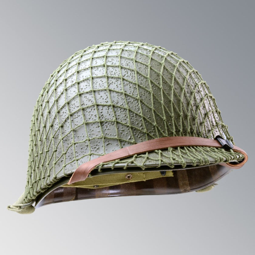 US WWII M1 McCord Infantry Helmet with Liner and Net