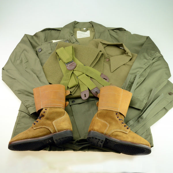 US WWII M43 Army Field Jacket and Pants