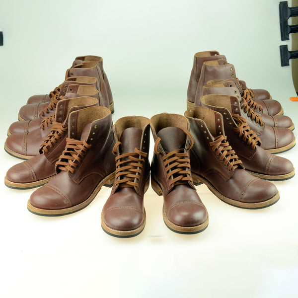 US WWII Army Service Boot Shoes