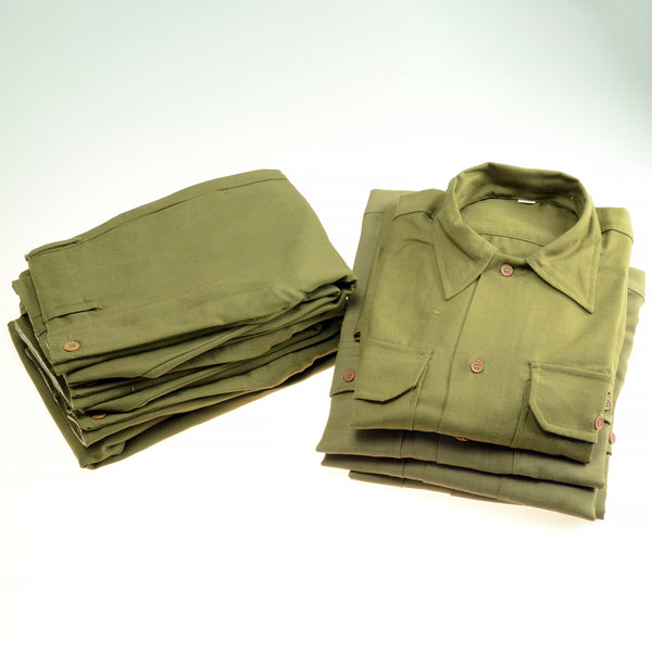 US WWII Army Enlisted Wool Uniform Shirts and Pants
