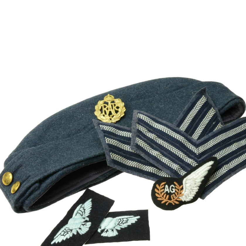 WWII British RAF Cap with Insignia