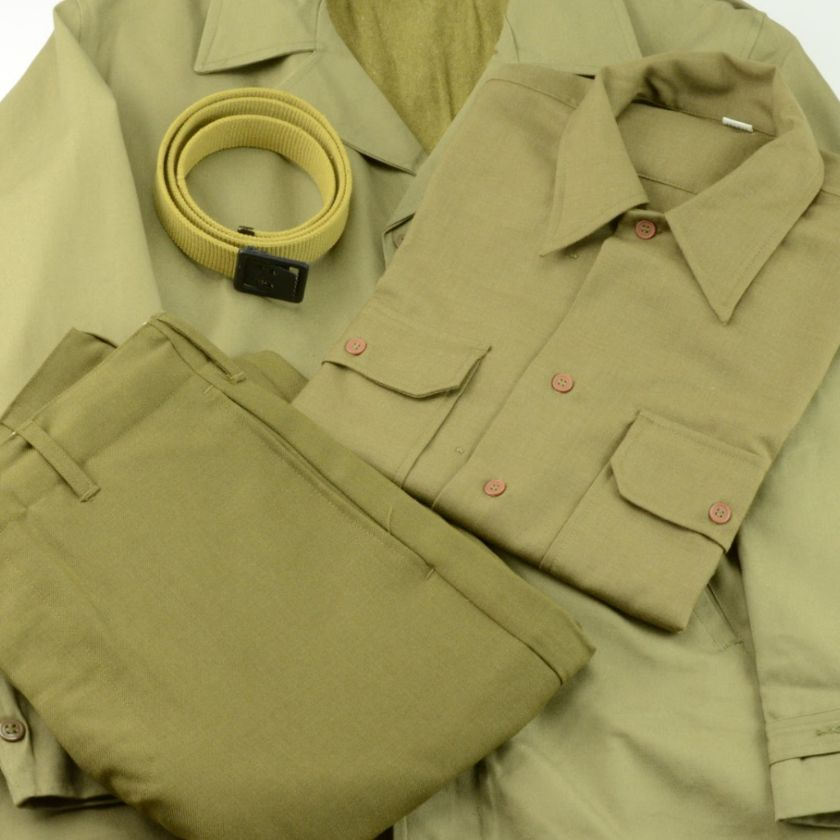 WWII US Army Enlisted Uniform Shirt and Pants