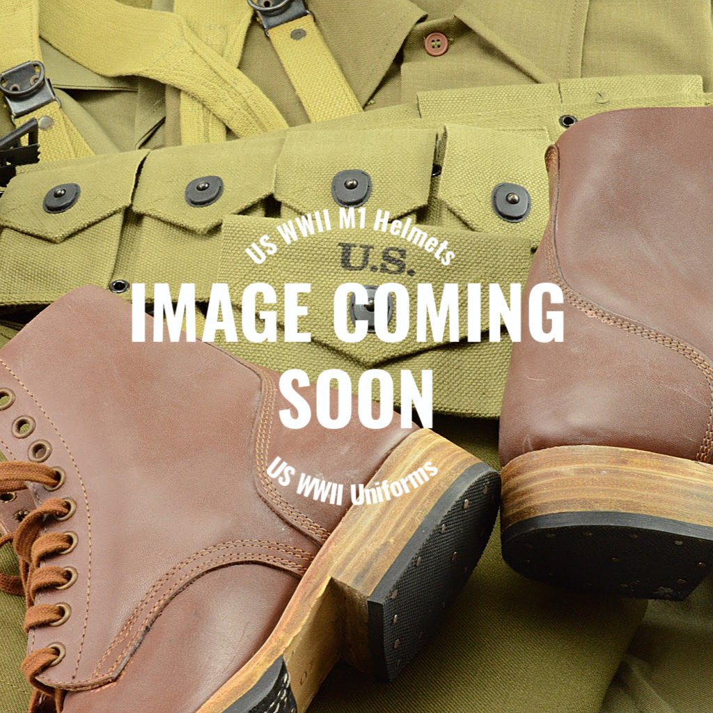 WWII US Army Reproduction Enlisted Uniform Reversed Leather Service Shoe Rough Side Out Ankle Boots – Shoe, Service, Reverse Uppers