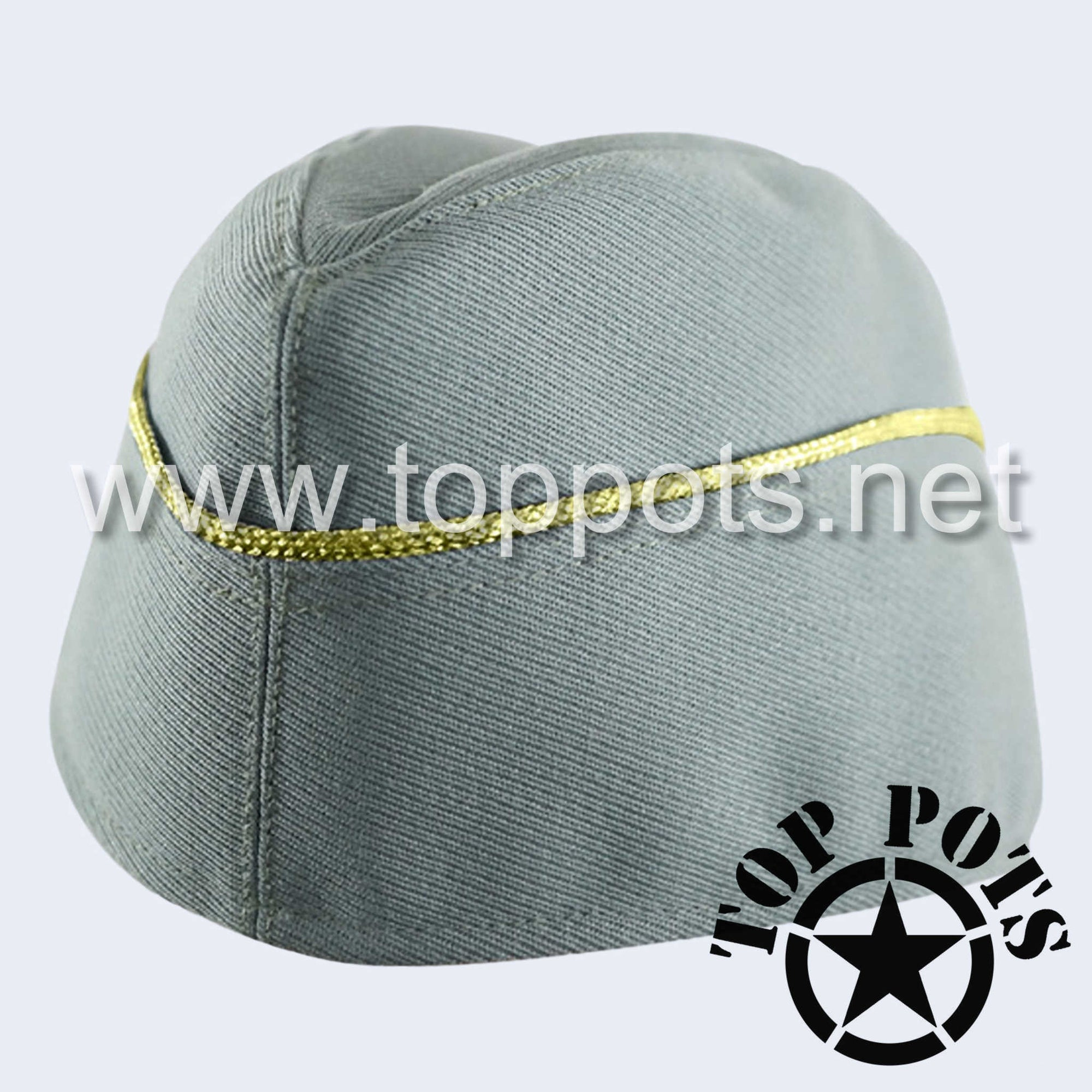 WWII German Army M1940 Heer Wehrmacht Officer Uniform Overseas Side Cap Field Grey Gabardine - General