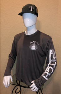 OPG ORIGINAL DRI FIT LONG SLEEVE SHIRTS - ALL WHITE LOGOS