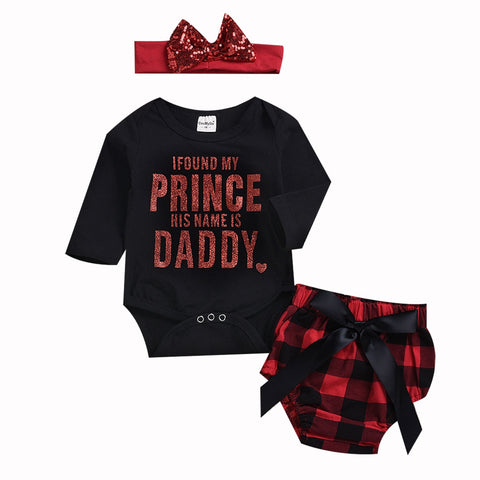 Daddy's Little Girl 3pcs