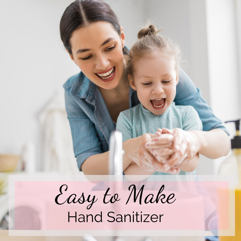 Easy to Make Hand Sanitizer