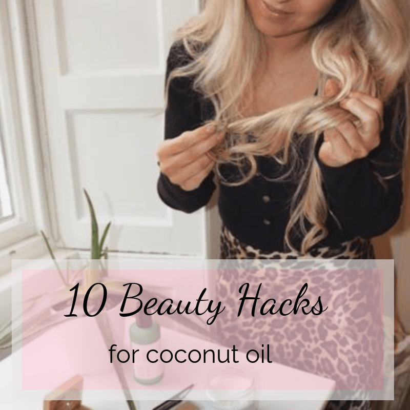 10 Beauty Hacks for Coconut Oil