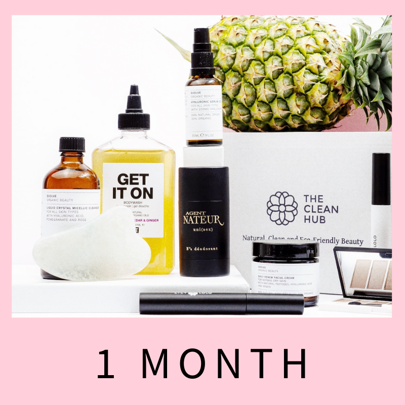1-MONTH CLEAN HUB SUBSCRIPTION BOX (SHIPPING NOVEMBER 15TH)