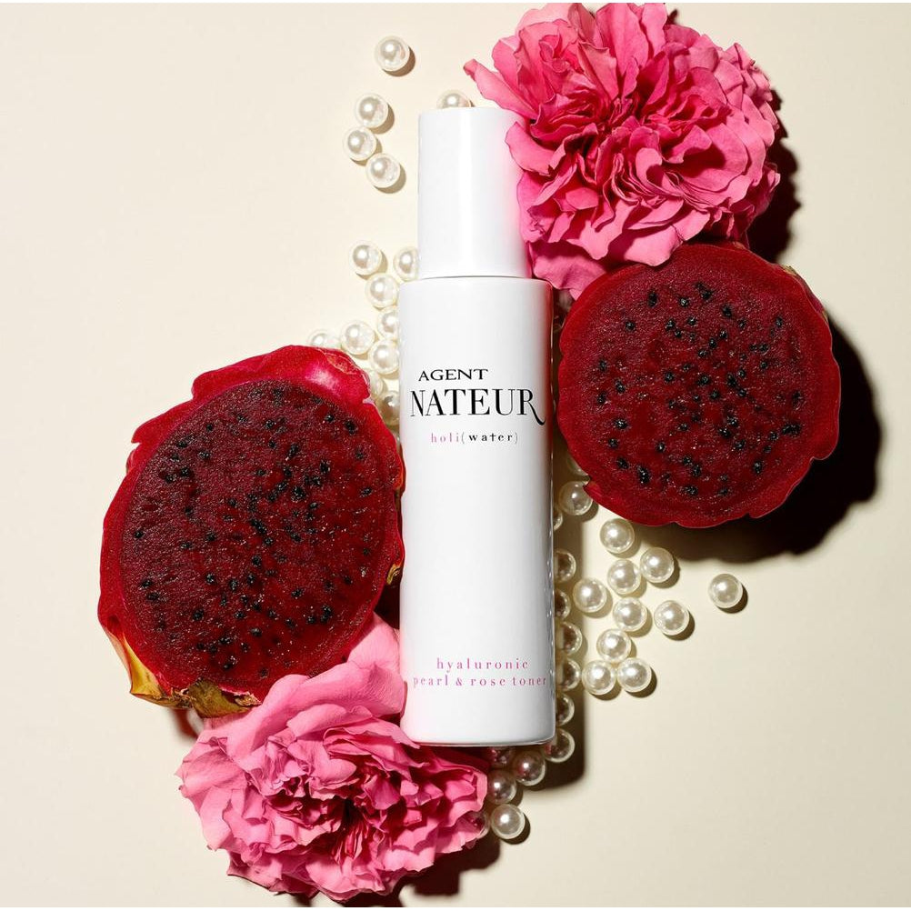 The Clean Hub: Agent Nateur Holi(Water) Pearl and Rose Hyaluronic Toner