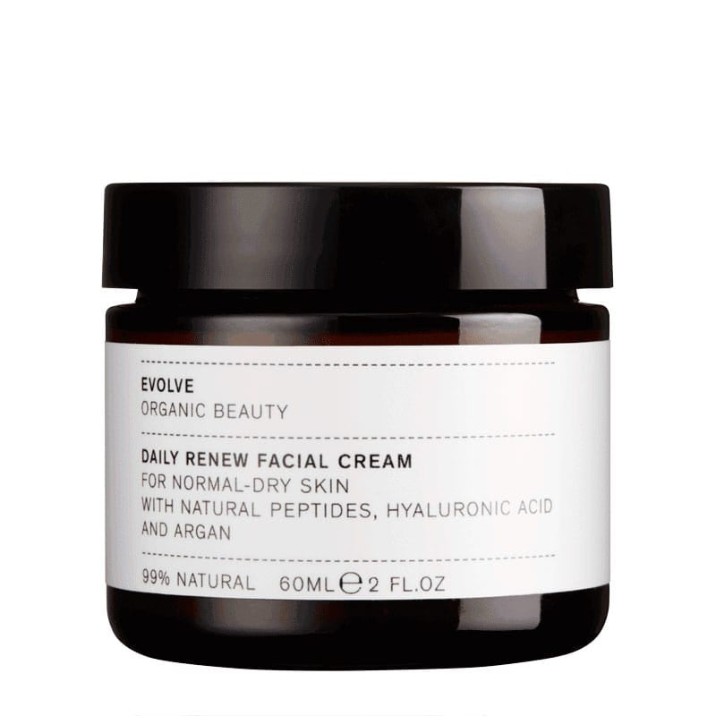 The Clean Hub: Daily Renew Vegan Facial Cream By Evolve Beauty