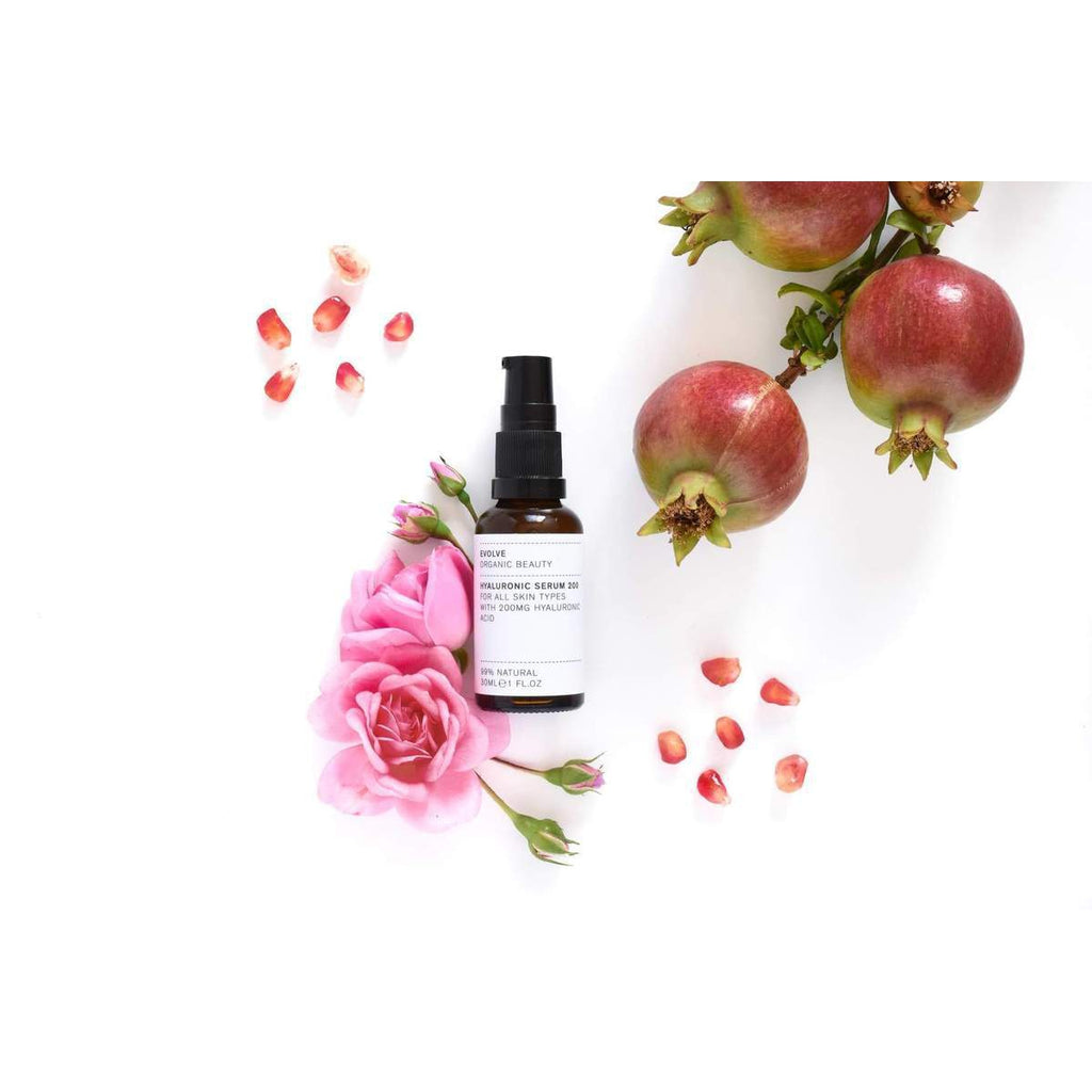 The Clean Hub: Hyaluronic Serum 200 By Evolve Beauty