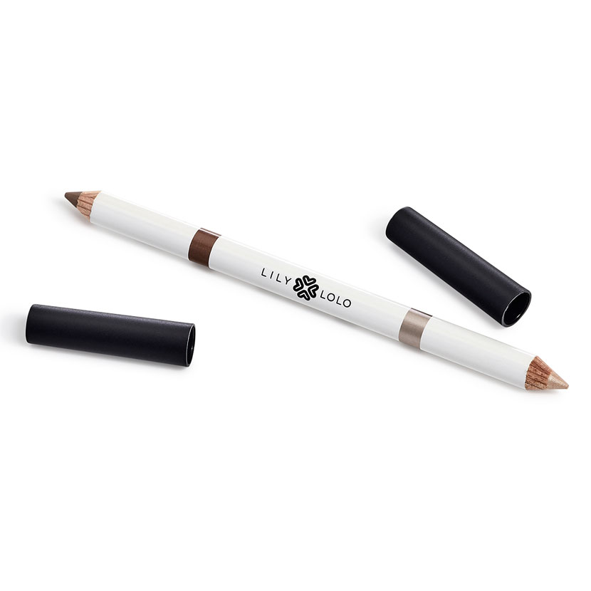 The Clean Hub: Vegan Brow Duo Pencil in Medium by Lily Lolo