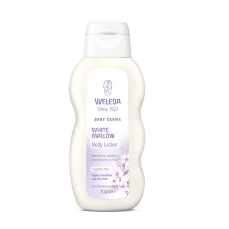 The Clean Hub: White Mallow Body Lotion by Weleda