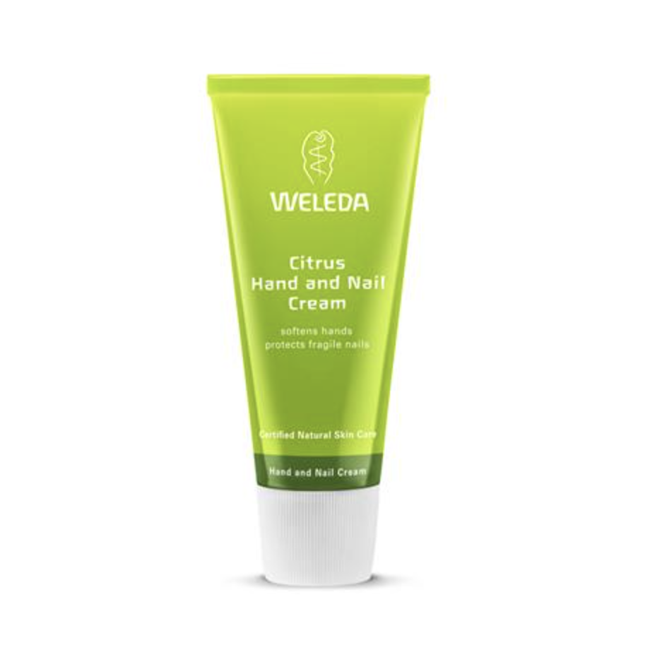 The Clean Hub: Citrus Hand and Nail Cream by Weleda