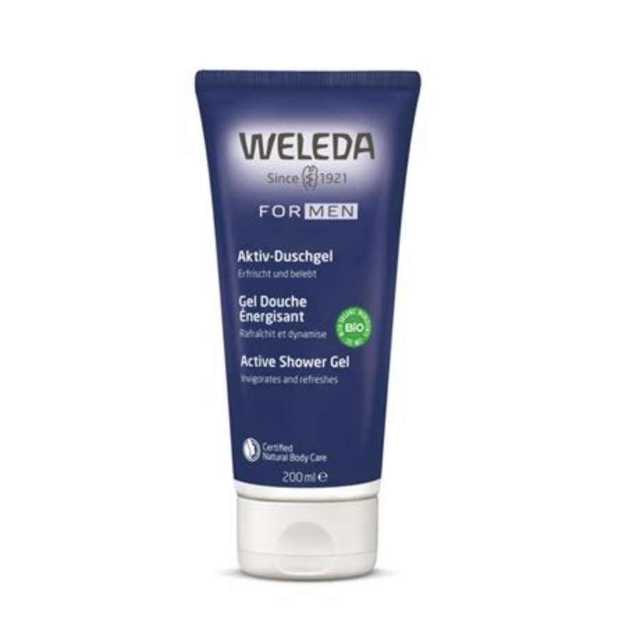 The Clean Hub: Men's All Natural Active Shower Gel by Weleda