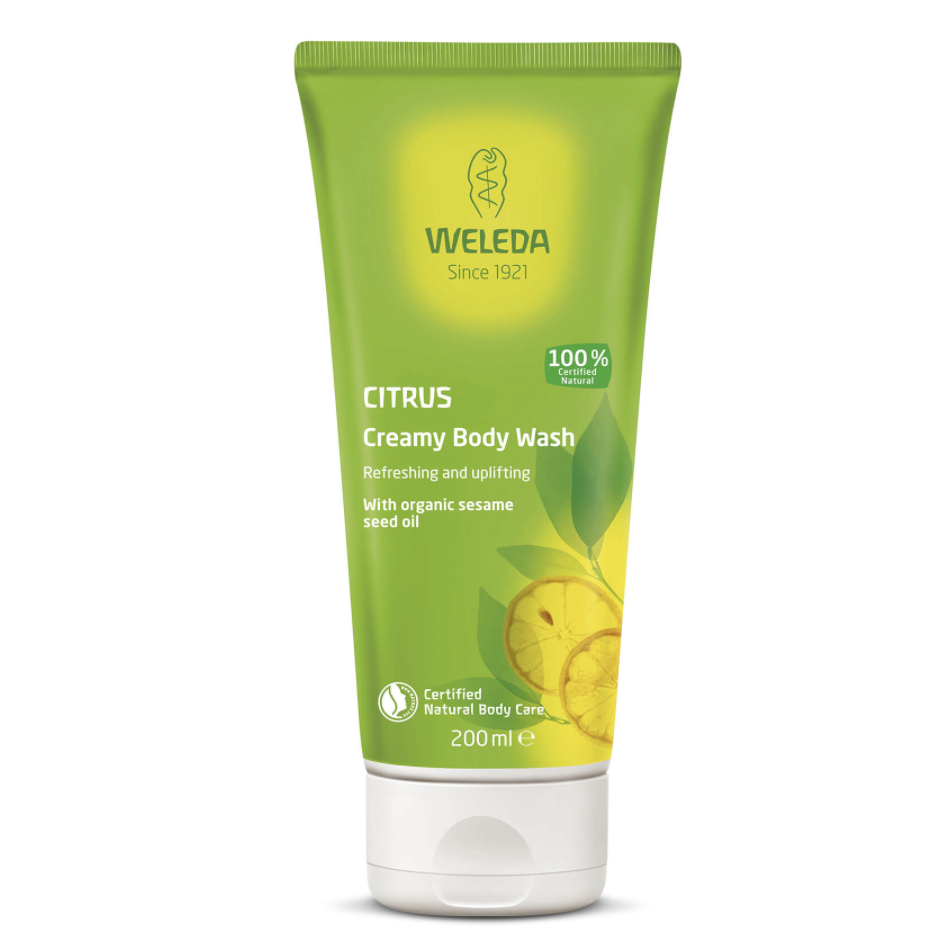 The Clean Hub: Citrus Creamy Body Wash by Weleda