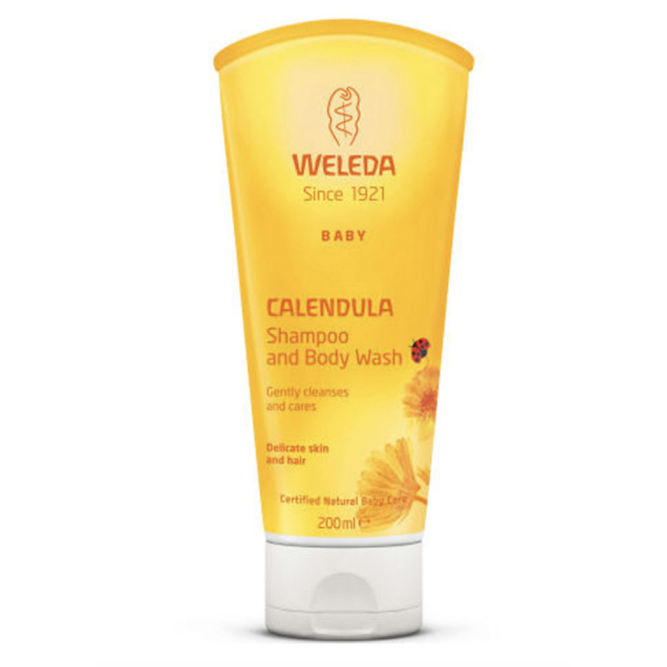 The Clean Hub: Calendula Shampoo and Body Wash by Weleda