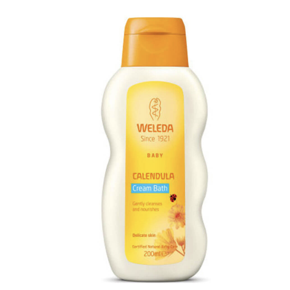 The Clean Hub: Calendula Cream Bath by Weleda