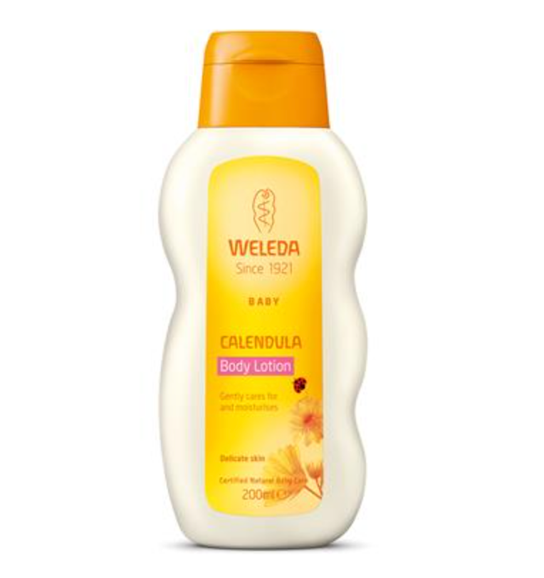 The Clean Hub: Calendula Baby Body Lotion by Weleda