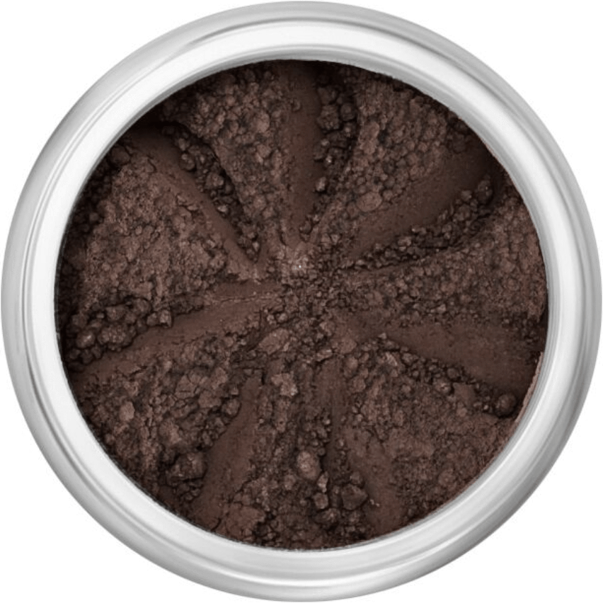 The Clean Hub Store LILY LOLO MINERAL EYE SHADOW IN BLACK SAND