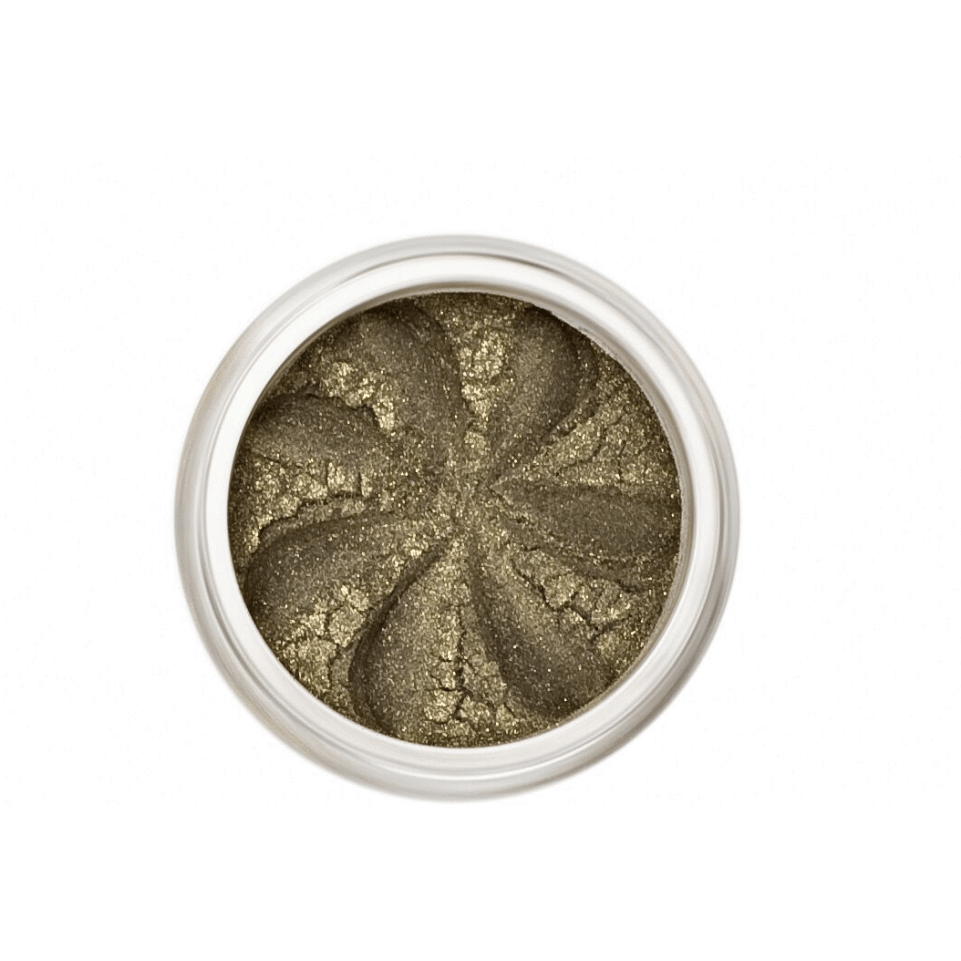The Clean Hub Store LILY LOLO MINERAL EYE SHADOW IN KHAKI SPARKLE