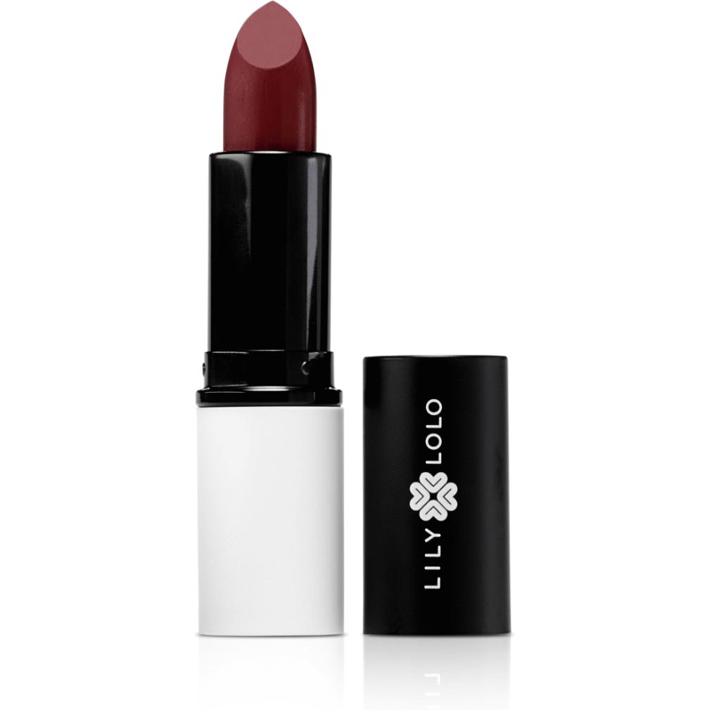 The Clean Hub Store LILY LOLO NATURAL LIPSTICK IN SCARLET RED