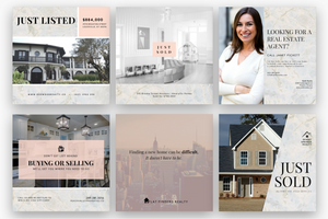 Chic Estates Instagram Design Bundle - Social Sales Shop