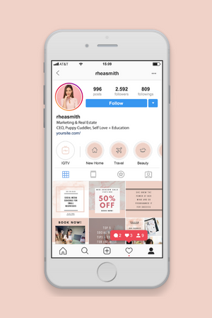 Instagram Stories Highlights Icons - Social Sales Shop