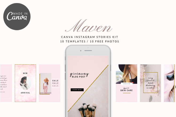 Maven Instagram Stories Kit