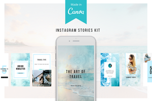Travel Instagram Stories Kit