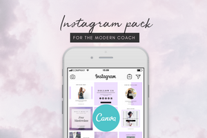 Coach Instagram Design Templates