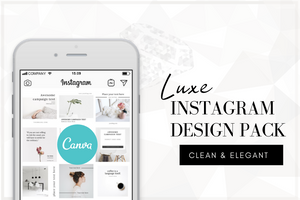 Luxe Instagram Design Templates
