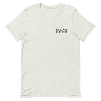 Freedom Founder (1) - Short-Sleeve Unisex T-Shirt