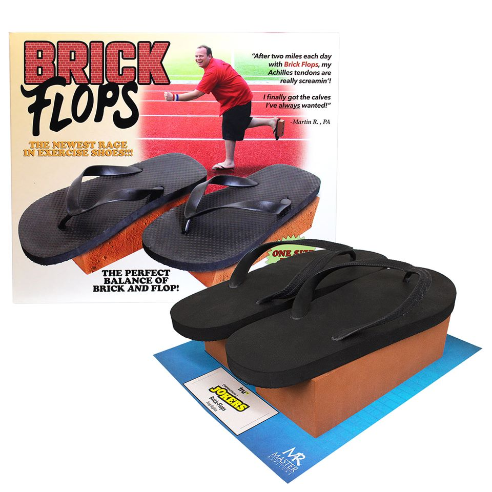Impractical Jokers Brick Flops Are In The House!