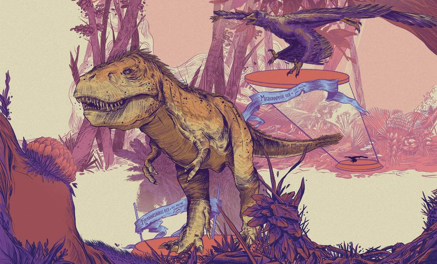 How do we know what dinosaurs looked like?