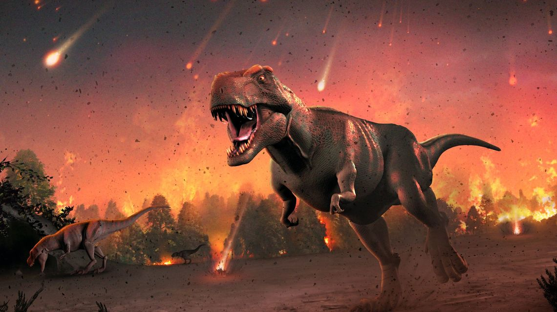 New Study Believes Dinosaurs Were Being Poisoned Before Epic Asteroid Strike