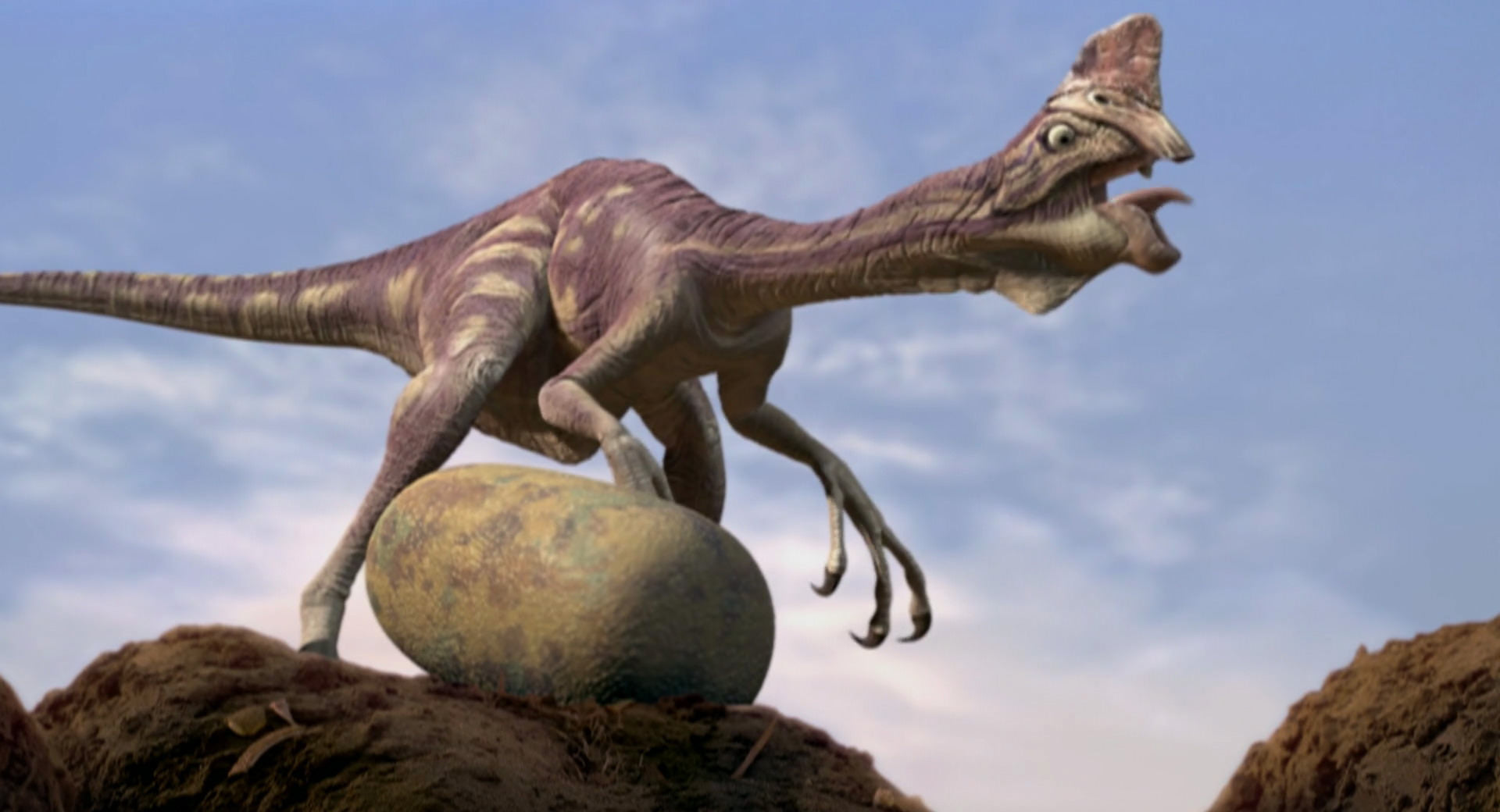 The Case of the Dinosaur Egg Thief