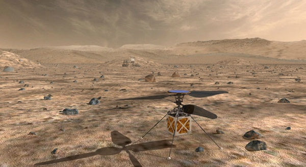 NASA is sending a helicopter to Mars!