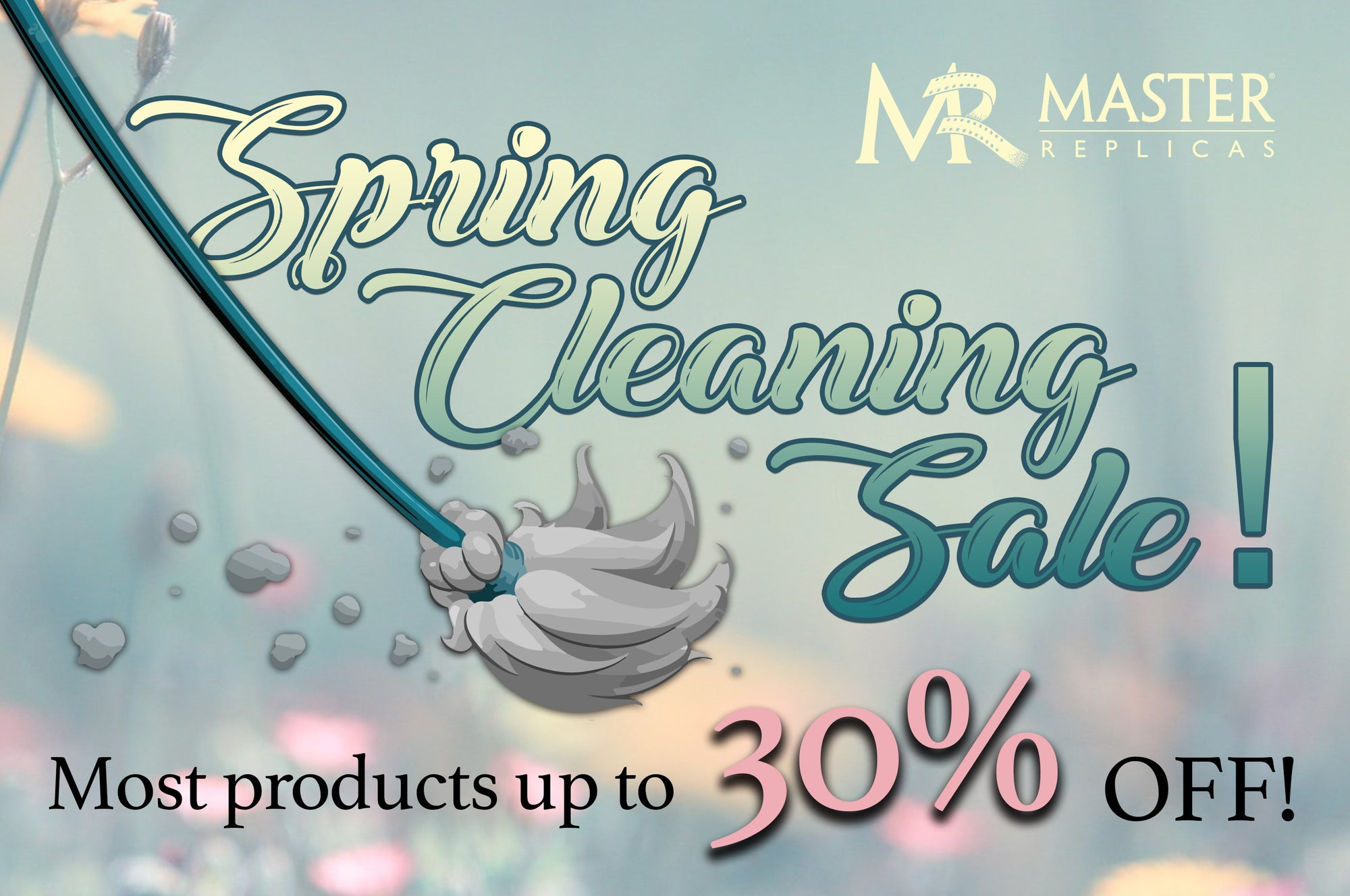Our Spring Cleaning Sale has Begun!