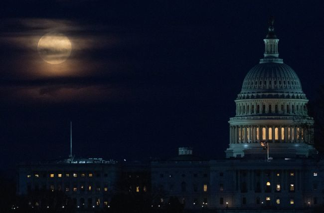 See the 2020 Super Worm Moon over NYC and Washington, D.C. in these awesome photos